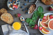 Summer Breakfast by Rodney Bedsole, a food photographer based in Nashville and New York City.