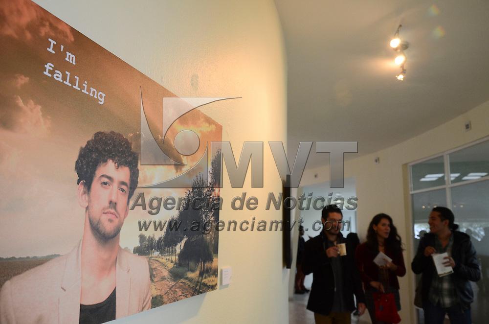 Toluca, México.- Con la participación de Seis jóvenes artistas integrantes del taller colectivo La Tómbola, se ianauguró la exposición Bitácora Digital: Relatos de la Vida Común, en el museo universitario Leopoldo Flores. Agencia MVT / Arturo Hernández.