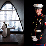 client: St. Louis Abbey (left), The Boy Scouts of America (right)