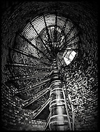 Babylon, NY,  October 25, 2016: ---The view climbing up the spiral staircase at the Fire Island Lighthouse.                 © Audrey C. Tiernan