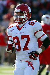 15 October 2011: Quintin McMartin during an NCAA football game between the University of South Dakota Coyotes and the Illinois State Redbirds (ISU) at Hancock Stadium in Normal Illinois.
