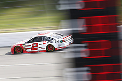 June 1, 2018 - Long Pond, Pennsylvania, United States of America - Brad Keselowski (2) takes to the track to practice for the Pocono 400 at Pocono Raceway in Long Pond, Pennsylvania. (Credit Image: © Justin R. Noe Asp Inc/ASP via ZUMA Wire)