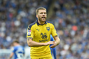 Oxford United Forward, Jamie Mackie (19) during the EFL Sky Bet League 1 match between Portsmouth and Oxford United at Fratton Park, Portsmouth, England on 18 August 2018.