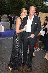 DAVID FLINT WOOD and INDIA HICKS at the annual Serpentine Gallery Summer Party co-hosted by Jimmy Choo shoes held at the Serpentine Gallery, Kensington Gardens, London on 30th June 2005.<br /><br />NON EXCLUSIVE - WORLD RIGHTS