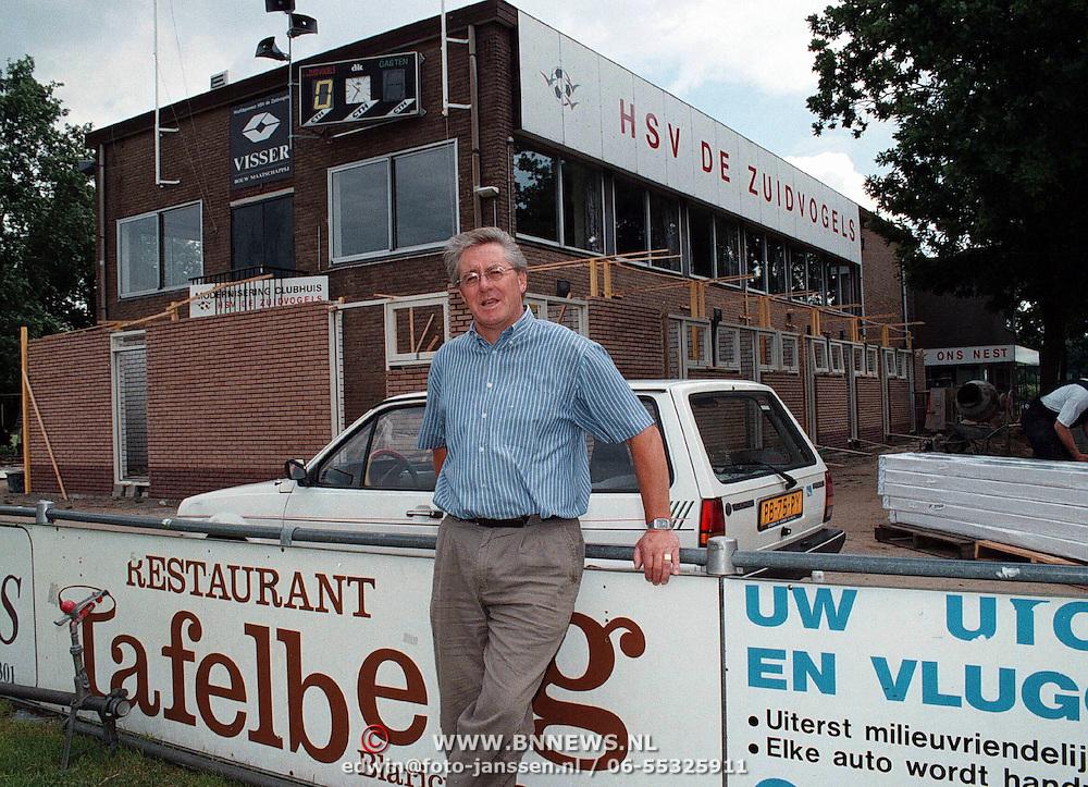 Gijs Honing, voorzitter Zuidvogels Huizen