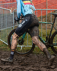 VAN AERT Wout (BEL) during Men Elite race, 2020 UCI Cyclo-cross Worlds Dübendorf, Switzerland, 2 February 2020. Photo by Pim Nijland / Peloton Photos | All photos usage must carry mandatory copyright credit (Peloton Photos | Pim Nijland)