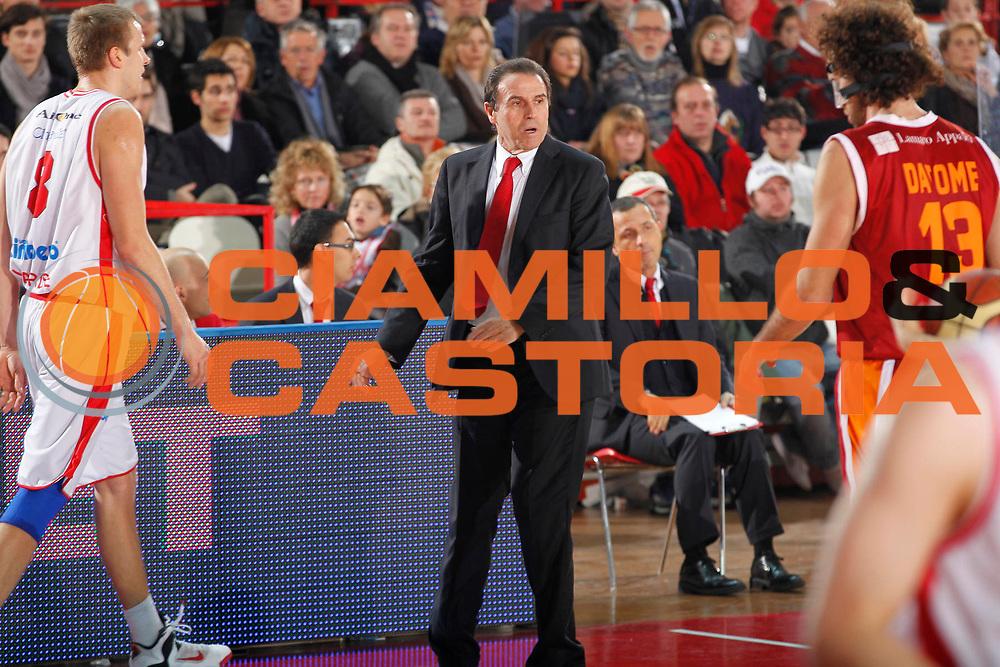 DESCRIZIONE : Varese Campionato Lega A 2011-12 Cimberio Varese Acea Virtus Roma<br /> GIOCATORE : Carlo Recalcati<br /> CATEGORIA : Ritratto Delusione<br /> SQUADRA : Cimberio Varese<br /> EVENTO : Campionato Lega A 2011-2012<br /> GARA : Cimberio Varese Acea Virtus Roma<br /> DATA : 12/02/2012<br /> SPORT : Pallacanestro<br /> AUTORE : Agenzia Ciamillo-Castoria/G.Cottini<br /> Galleria : Lega Basket A 2011-2012<br /> Fotonotizia : Varese Campionato Lega A 2011-12 Cimberio Varese Acea Virtus Roma<br /> Predefinita :