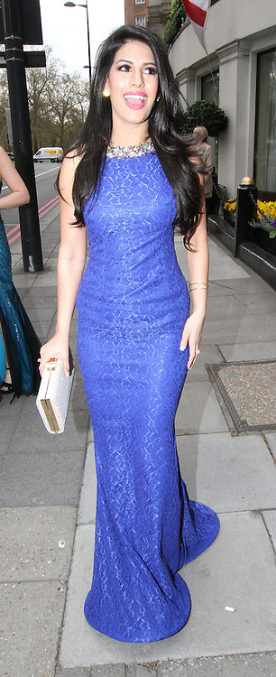 05.APRIL.2014. LONDON<br /> <br /> CODE - MAG<br /> <br /> LYDIA BRIGHT AND JASMIN WALIA ATTEND THE ASIAN AWARDS AT THE GROSVENOR HOTEL, LONDON<br /> <br /> BYLINE: EDBIMAGEARCHIVE.CO.UK<br /> <br /> *THIS IMAGE IS STRICTLY FOR UK NEWSPAPERS AND MAGAZINES ONLY*<br /> *FOR WORLD WIDE SALES AND WEB USE PLEASE CONTACT EDBIMAGEARCHIVE - 0208 954 5968*