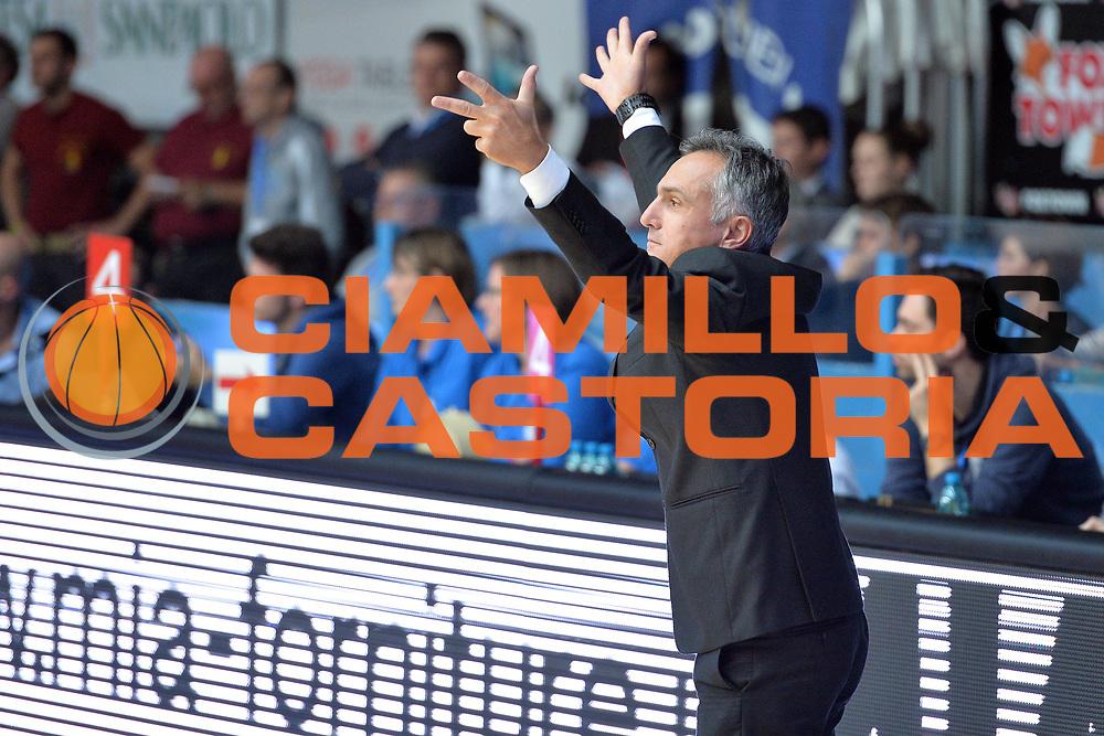 DESCRIZIONE : Cant&ugrave; Lega A 2014-2015 Acqua Vitasnella Cant&ugrave; vs Granarolo Bologna<br /> GIOCATORE : Giorgio Valli<br /> CATEGORIA : Coach Ritratto <br /> SQUADRA : Granarolo Bologna<br /> EVENTO : Campionato Lega A 2014-2015 GARA : Acqua Vitasnella Cant&ugrave; vs Granarolo Bologna<br /> DATA : 02/11/2014 <br /> SPORT : Pallacanestro <br /> AUTORE : Agenzia Ciamillo-Castoria/I.Mancini<br /> GALLERIA : Lega Basket A 2014-2015 FOTONOTIZIA : Cant&ugrave; Lega A 2014-2015 Acqua Vitasnella Cant&ugrave; vs Granarolo Bologna<br /> PREDEFINITA :