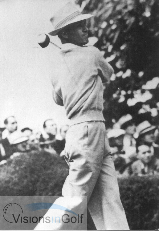 Ben Hogan at the 1948 USGA Open Championship<br /> Picture Credit: ©Visions In Golf / Hobbs Golf Collection