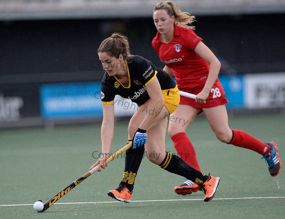 Den Bosch's Jeanne Exterkate during their opening game of the EHCC 2017 at Den Bosch HC, The Netherlands, 2nd June 2017