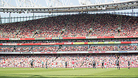Football - 2017 / 2018 Premier League - Arsenal vs. West Ham United<br /> <br /> Despite the news that Arsenal Manager Arsene Wenger is leaving at the end of the year the stands appear half empty at The Emirates.<br /> <br /> COLORSPORT/DANIEL BEARHAM
