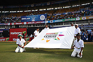 General View of the flag bearers during match 16 of the Karbonn Smart Champions League T20 (CLT20) 2013  between The Titans and Trinidad and Tobago held at the Sardar Patel Stadium, Ahmedabad on the 30th September 2013<br /> <br /> Photo by Shaun Roy-CLT20-SPORTZPICS  <br /> <br /> Use of this image is subject to the terms and conditions as outlined by the CLT20. These terms can be found by following this link:<br /> <br /> http://sportzpics.photoshelter.com/image/I0000NmDchxxGVv4