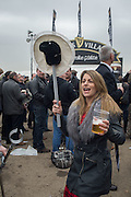 RHIA BRUSCHIN, The Cheltenham Festival Ladies Day. Cheltenham Spa. 11 March 2015
