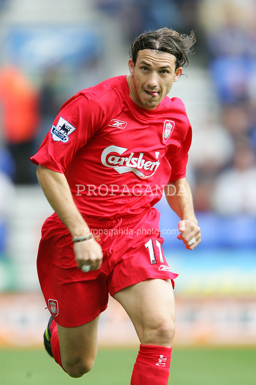 BOLTON, ENGLAND - SUNDAY AUGUST 29th 2004: Liverpool's Josemi in action against Bolton during the Premiership match at the Reebok Stadium. (Photo by David Rawcliffe/Propaganda)
