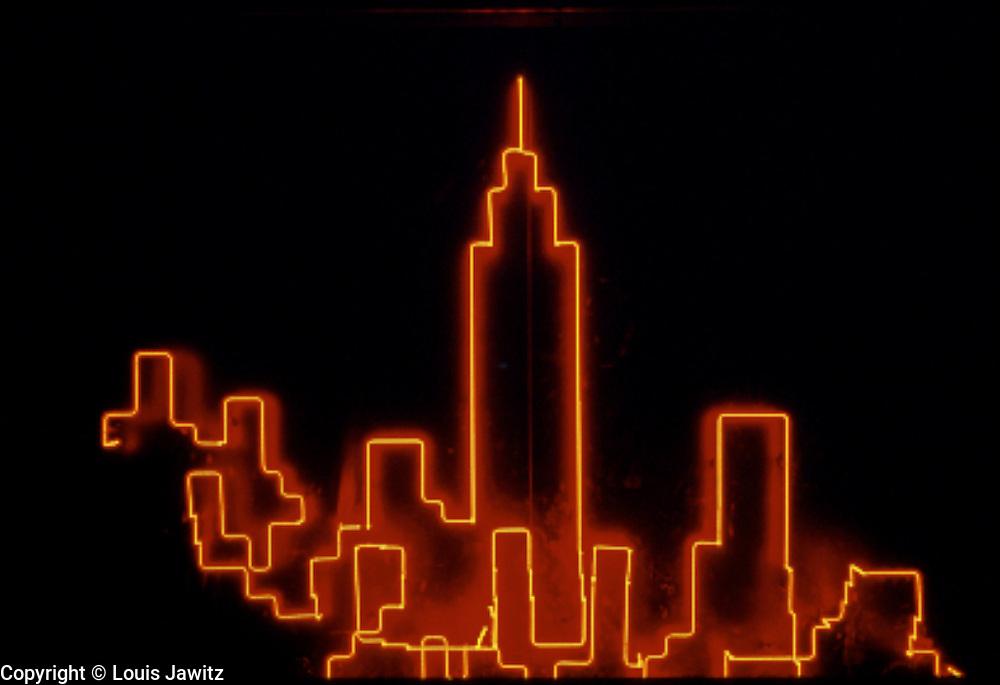 NEON, new york city, Horizontal, Glowing, Red, NEON NYC,