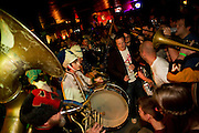 Mucca Pazza playing to a packed room at The Firebird in St. Louis, Missouri on May 22nd, 2010.