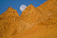Moonrise over the East Sierra, California