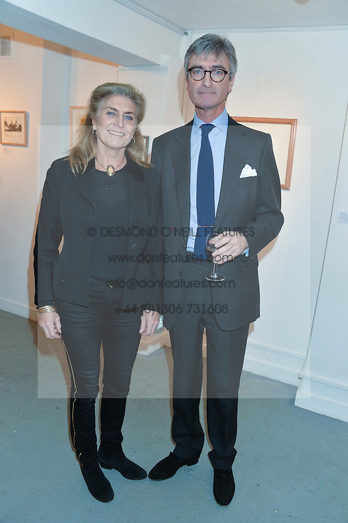 PRINCESS VICTORIA VON PREUSSEN and LORD MANCROFT at an exhibition of works by Beatrice von Preussen held at The Gallery on The Corner, 155 Battersea Park Road, London SW8 on 11th December 2013.