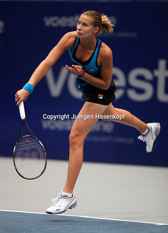 Generali Ladies Linz Open 2010,WTA Tour, Damen.Hallen Tennis Turnier in Linz, Oesterreich,.Polona Hercog (SLO)