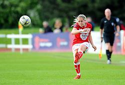 Poppy Pattinson of Bristol City in action- Mandatory by-line: Nizaam Jones/JMP - 28/04/2019 - FOOTBALL - Stoke Gifford Stadium - Bristol, England - Bristol City Women v West Ham United Women - FA Women's Super League 1