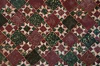 Detail of a beautiful mosaic floor in a Venetian palazzo.
