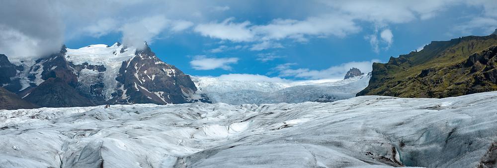 Svinafellsjokull in Southeast Iceland