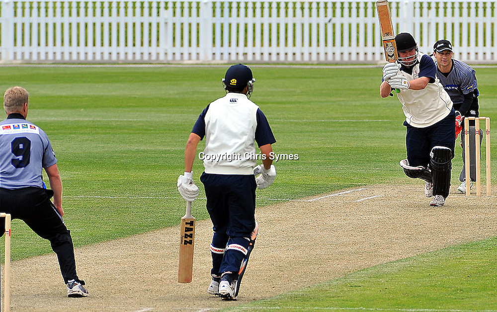 Nelson player Ricky Edwards during the NZCPA Masters v Nelson at Saxton Oval, Nelson, New Zealand. Sunday 20 November 2011. Photo: Chris Symes/www.photosport.co.nz