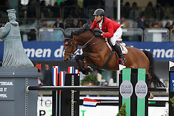 Dunon Gilles, (BEL), Wesselina<br /> Furusiyya FEI Nations Cup™ presented by Longines<br /> CHIO Rotterdam 2015<br /> © Hippo Foto - Dirk Caremans<br /> 19/06/15