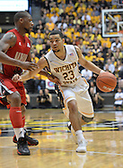 WICHITA, KS - NOVEMBER 12:  Guard Fred VanVleet #23 of the Wichita State Shockers brings the ball up the court against the Western Kentucky Hilltoppers during the first half on November 12, 2013 at Charles Koch Arena in Wichita, Kansas.  (Photo by Peter Aiken/Getty Images) *** Local Caption *** Fred VanVleet