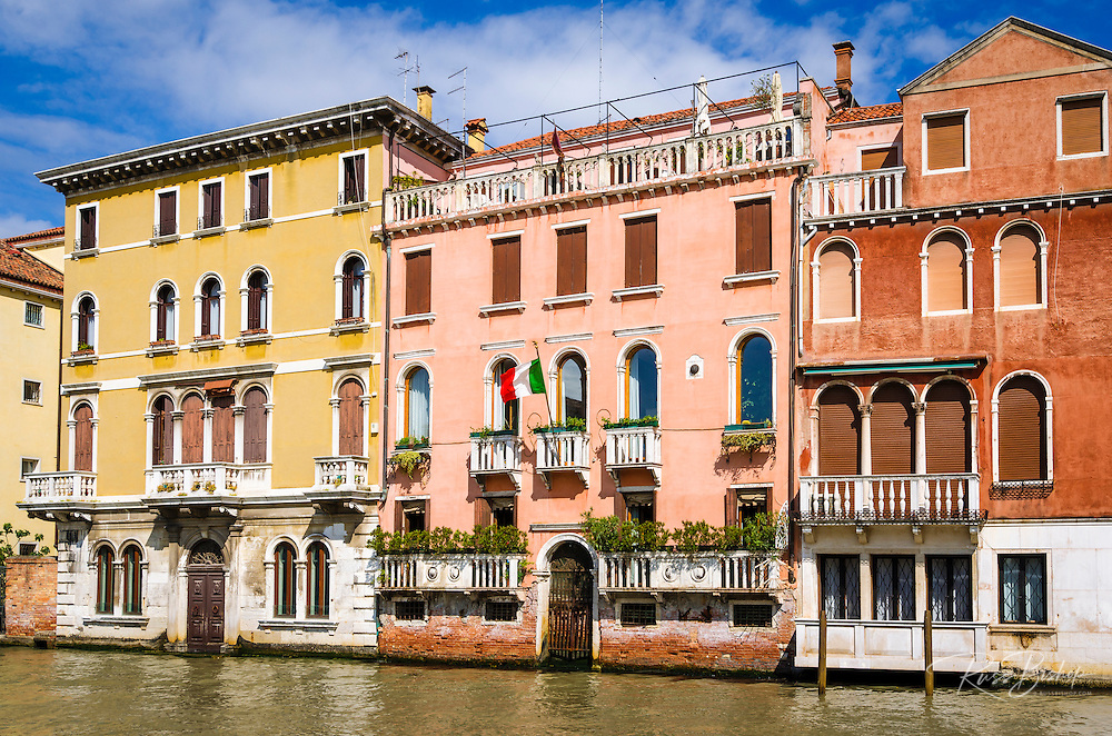 Palazzo on the Grand Canal, Venice, Veneto, Italy