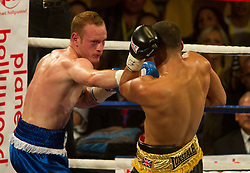 The British champion James DeGale is fighting against George Groves, the Commonwealth champion, for the British and Comonwealth Suoer-Midelweight Championship, in the World Championship Boxing event at The O2 in London, Saturday, May 21st, 2011..Bogdan Maran / ClevaMedia .