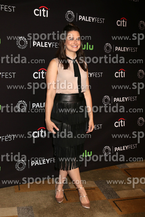 Katie Lowes, at &quot;Scandal&quot; at the 33rd Annual PaleyFest Los Angeles, Dolby Theater, Hollywood, CA 03-15-16. EXPA Pictures &copy; 2016, PhotoCredit: EXPA/ Photoshot/ Martin Sloan<br /> <br /> *****ATTENTION - for AUT, SLO, CRO, SRB, BIH, MAZ, SUI only*****