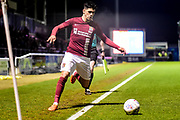 Northampton Town striker (on loan from Everton) Boris Mathis (9) looks to cross during the EFL Sky Bet League 1 match between Northampton Town and Shrewsbury Town at Sixfields Stadium, Northampton, England on 20 March 2018. Picture by Dennis Goodwin.