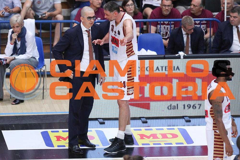 De Raffaele Walter e Ress Tomas, Dolomiti Energia Trentino vs Umana Reyer Venezia LBA Serie A Playoff Finale gara 3 stagione 2016/2017 Pala Trento, Trento 14 giugno 2017