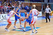 DESCRIZIONE : Gospic Croazia Qualificazioni Europei 2011 Croazia Italia<br /> GIOCATORE : Angela Gianolla<br /> SQUADRA : Nazionale Italia Donne<br /> EVENTO : Qualificazioni Europei 2011<br /> GARA : Croazia Italia<br /> DATA : 17/08/2010 <br /> CATEGORIA : Palleggio<br /> SPORT : Pallacanestro <br /> AUTORE : Agenzia Ciamillo-Castoria/M.Gregolin<br /> Galleria : Fip Nazionali 2010 <br /> Fotonotizia : Gospic Croazia Qualificazioni Europei 2011 Croazia Italia<br /> Predefinita :