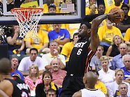 NBA Playoffs - Indiana Pacers vs Miami Heat Game 4 - Indianapolis, IN