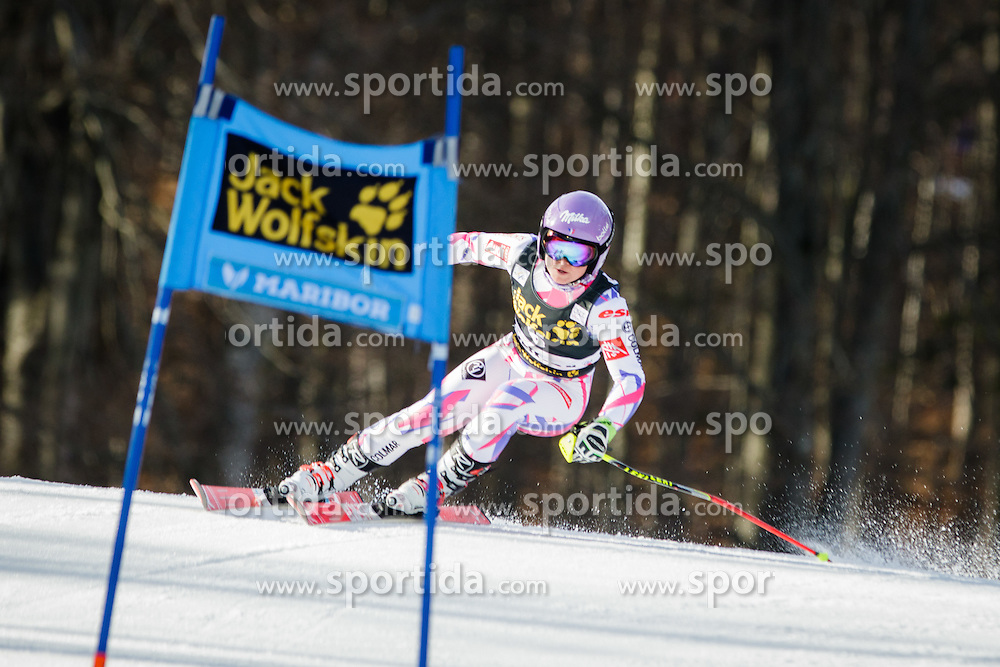 Tessa Worley (FRA) during Ladies' Giant slalom at 52nd Golden Fox - Maribor of Audi FIS Ski World Cup 2015/16, on January 30, 2016 in Pohorje, Maribor, Slovenia. Photo by Ziga Zupan / Sportida