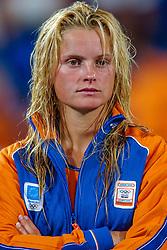 27-08-2004 GRE: Olympic Games day 14, Athens<br /> Hockey finale vrouwen Nederland - Duitsland 1-2 / Fatima Moreira de Melo