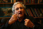 "Abraham B. (""Bulli"") Yehoshua (born December 19, 1936) is an Israeli novelist, essayist, and playwright. His pen name is A. B. Yehoshua, at his home in Jerusalem. On May 5, 2007."