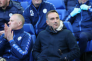Sheffield Wednesday head coach Carlos Carvalhal during the Sky Bet Championship Play Off First Leg match between Sheffield Wednesday and Brighton and Hove Albion at Hillsborough, Sheffield, England on 13 May 2016.