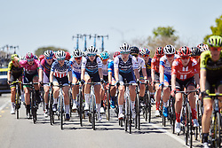 Ruth Winder (USA), Tayler Wiles (USA) and Anna Plichta (POL) in the bunch at the 2020 Towards Zero Race Torquay - Elite Women, a 104 km road race in Torquay, Australia on January 30, 2020. Photo by Sean Robinson/velofocus.com