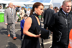 Coleen Rooney arrives for the Grand National Day of the 2018 Randox Health Grand National Festival at Aintree Racecourse, Liverpool.