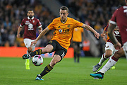 Diogo Jota of Wolverhampton Wanderers during the Europa League play off leg 2 of 2 match between Wolverhampton Wanderers and Torino at Molineux, Wolverhampton, England on 29 August 2019.