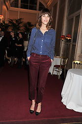 ALEXA CHUNG at the Audi Ballet Evening held at the Royal Opera House, Bow Street, Covent Garden, London on 22nd March 2012.