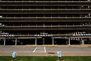Parking garage in McKeesport, Pa.<br /> <br /> In 1940, 55,355 people lived in McKeesport with the major employer being the National Tube works which made iron pipes. The tube works once employed 10,000 workers. <br /> <br /> The steady decline in population and jobs is attributed to the economic crash that occurred with the decline of the steel industry.