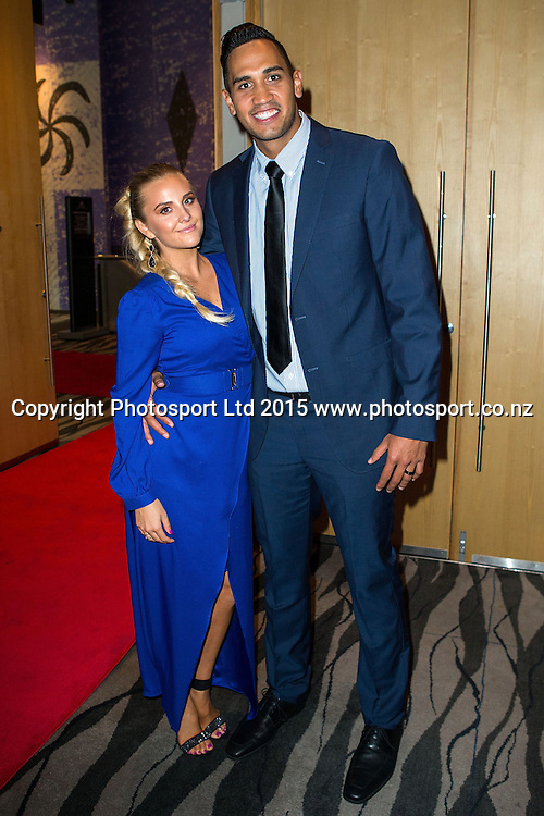 Tai Wesley with China at the SkyCity Breakers Awards, 2014-15, SkyCity Convention Centre, Auckland, New Zealand, Friday, March 20, 2015. Copyright photo: David Rowland / www.photosport.co.nz