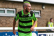Forest Green Rovers Liam Noble (15) during the Vanarama National League match between Dover Athletic and Forest Green Rovers at Crabble Athletic Ground, Dover, United Kingdom on 10 September 2016. Photo by Shane Healey.