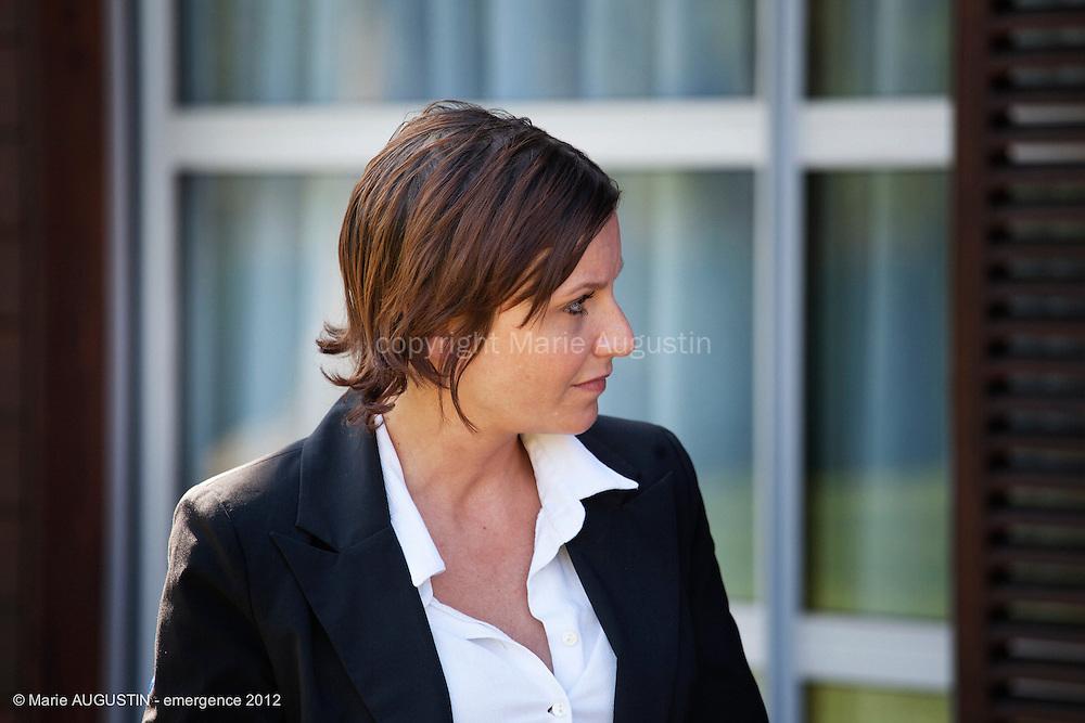 Salomé RICHEZ, comédienne - tournage scène imposée de Sacha WOLFF - emergence 2012