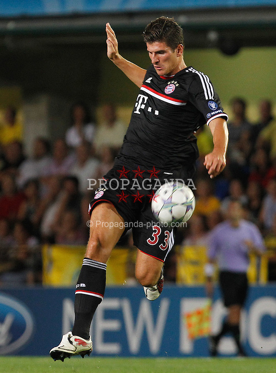 14.09.2011, Estadio El Madrigal, Villareal, ESP, UEFA CL, Villareal CF v FC Bayern Muenchen, im Bild FC Bayern Munchen's Mario Gomez during UEFA Champions League match.September 14,2011. EXPA Pictures © 2011, PhotoCredit: EXPA/ Alterphoto/ Acero +++++ ATTENTION - OUT OF SPAIN/(ESP) +++++
